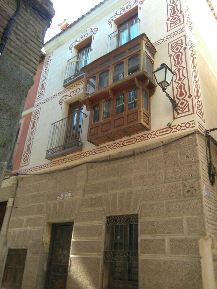Calle de la plata, balcón típico.