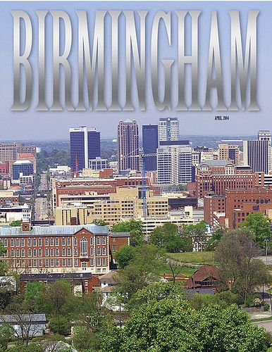 Photo of downtown Birmingham Alabama