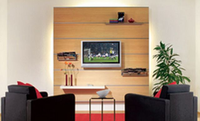 Tv Multifunktionswand Selbst De Medien Mobel Tv Wand Selber Bauen Holzwand Wohnzimmer