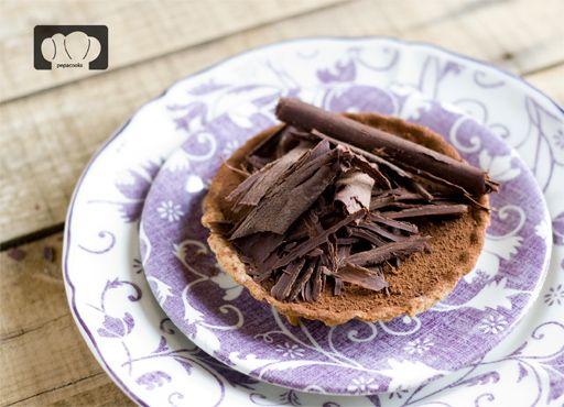receta de tarta de chocolate cremoso