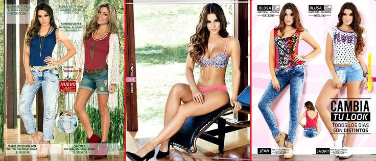 141154 - Ropa Casual, Pijamas & Ropa Intima /  CATALOGOS DE ROPA FEMENINA
