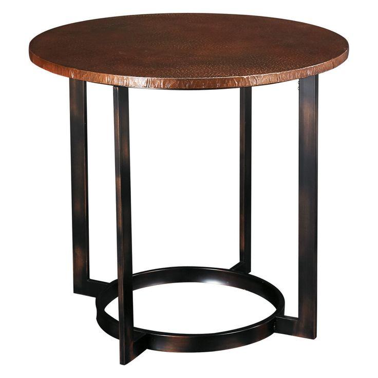 Hammary Nueva Round End Table - T2063235-00