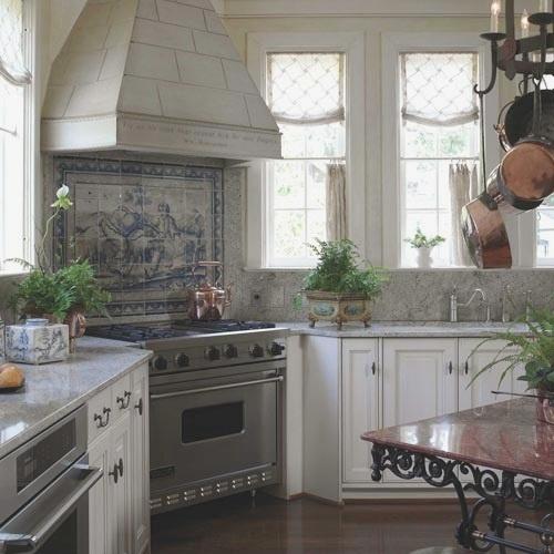Marvelous Corner Stove, Marble Counters, Great Pane Windows