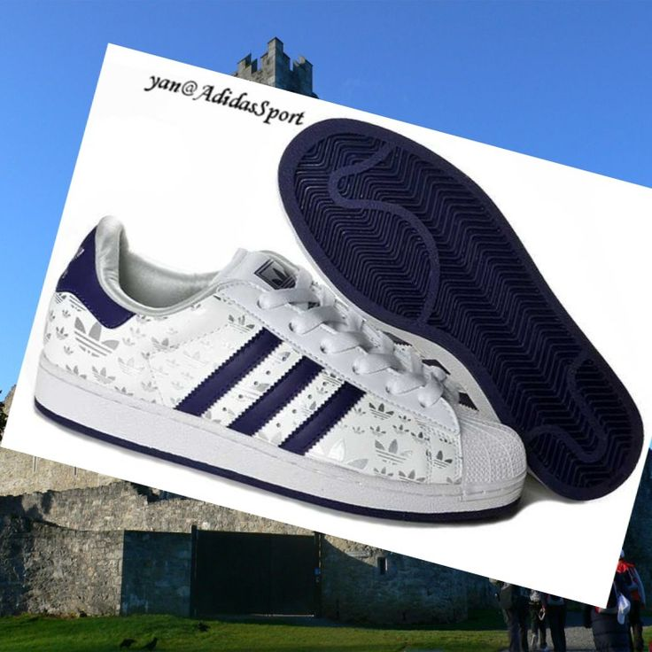 White Silver Dark Blue - Adidas Originals Superstar II Women Shoes,HOT SALE!