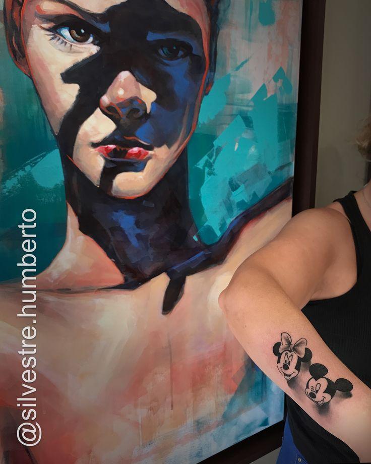 Tattoo Artist: Humberto Silvestre  Golden Tattoo Machine® Golden Tattoo Studio Portugal®  #Tattoo #Tattoos #BlackAndGrey #BlackAndGreyTattoo #Mickey #Minnie #Mouse #Disney #WaltDisney #Art #Ink #Inked #InkedMag #InkedLife #TattooLife #InstaTattoo #Tatuagem #Tatouage #TattooMagazine #TattooArtMagazine #TheInkMasters #TattooWork #TheBestTattooMagazine #Tattooed #The_Best_Tattoo_Magazine #GoldenTattooStudio