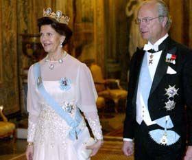 Kungen och Drottningen. Foto: Pressens Bild