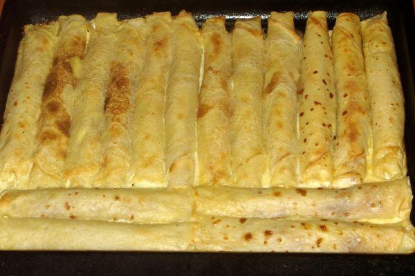 Zapečene palačinke sa sirom (Croatian cheese crepes)