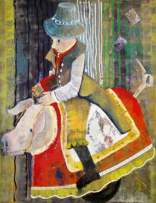 «Throne», της Άννας Τσαλάγκα  #fine_art #art #illustration #paintings #TheMachineGR  http://themachine.gr/fine-arts/item/320-throne-anna-tsalaga.html