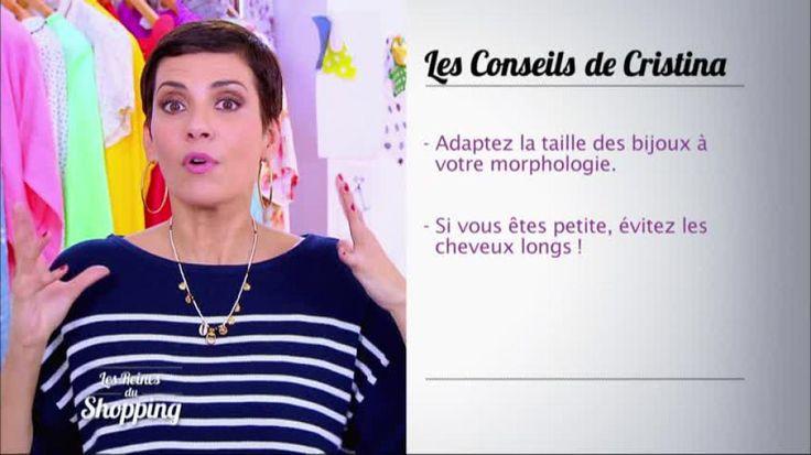 Cristina Cordula nous retrouve afin de livrer quelques conseils. La styliste explique comment choisir ses bijoux lorsqu'on est petite. Retrouvez Les reines du shopping sur M6.