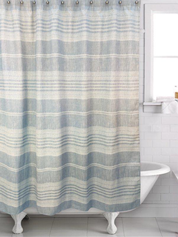 Fillion Single Shower Curtain Shower Curtain Blue Shower
