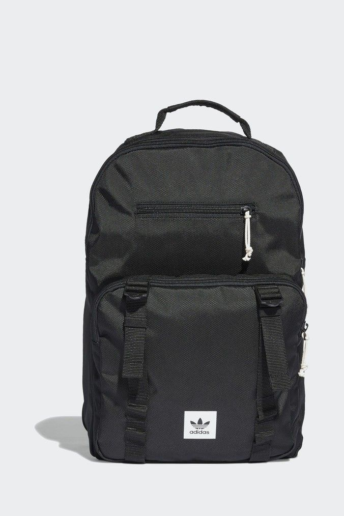Adidas Originals Black Atric Classic Backpack Black Backpacks