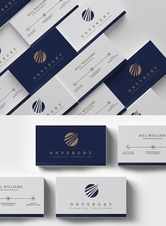 Financial Consulting Business Card Business Cards Layout Graphic Design Business Card Professional Business Card Design