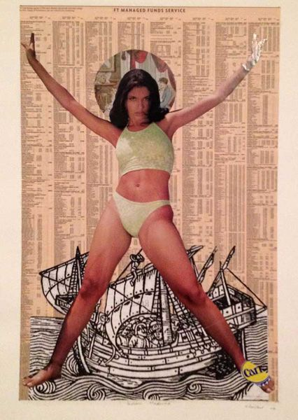 Godfried Donkor, Indian Madonna  http://www.pascalpolar.be/site/artisteview.php?nom_de_tri=Godfried%20Donkor