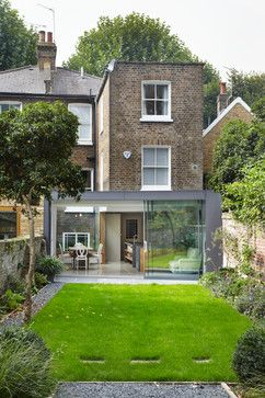 The Glazed Courtyard - contemporary - Exterior - London - Fraher Architects
