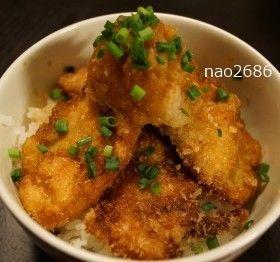 余ったチキンカツで◆チキンおろしカツ丼 by nao2686 [クックパッド] 簡単おいしいみんなのレシピが228万品