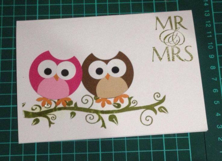Mr & Mrs Owl #handmade