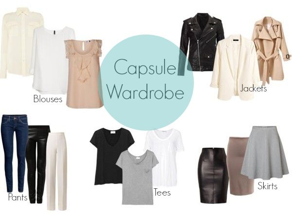capsule wardrobe womens - Google Search