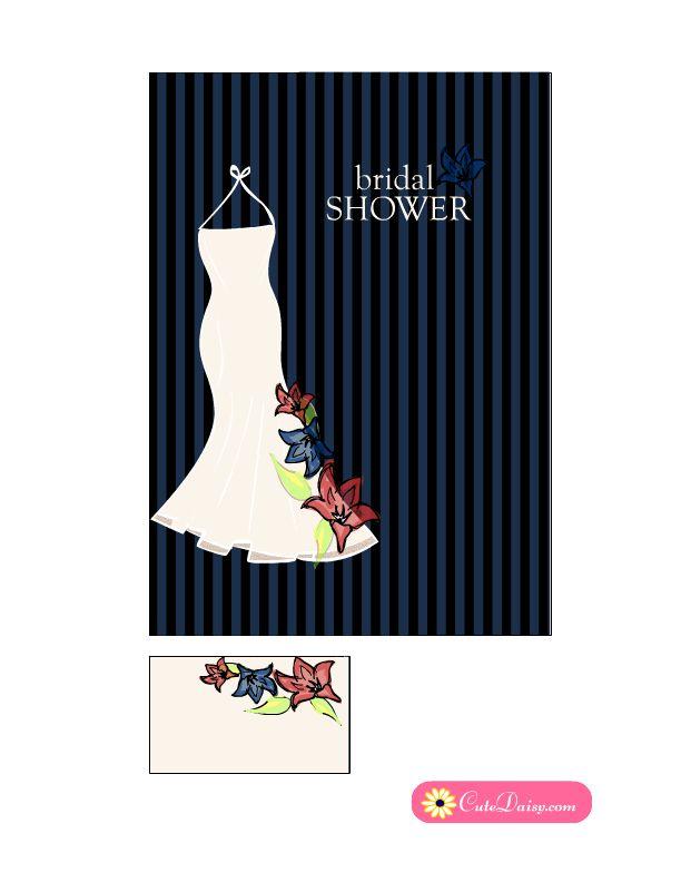 103 best Free Printable Bridal Shower Invitations { Templates - printable wedding shower invitations templates