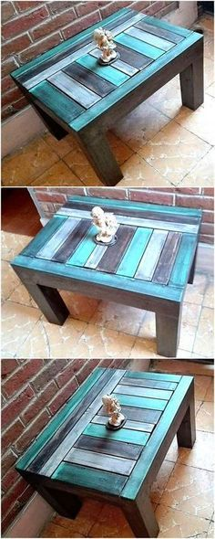 pallets made side table