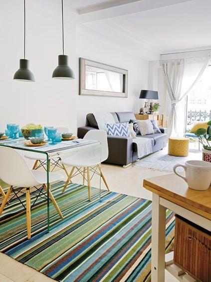 27 Maneras de Incluir Sala y Comedor en una Misma Habitación