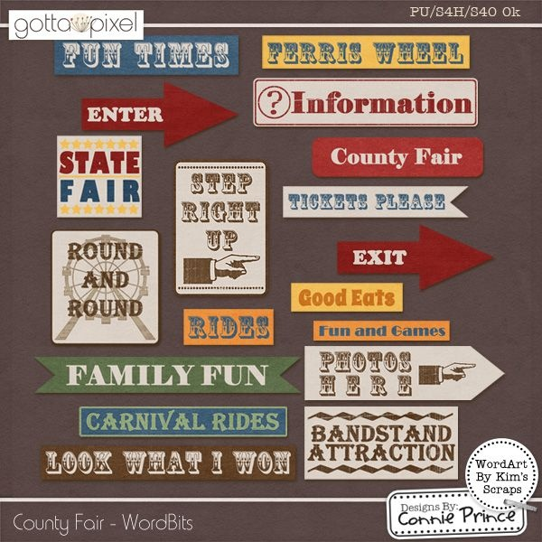 County Fair - WordBits