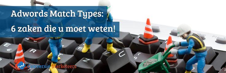 Kernwoorden en hun zogenaamde match types zijn essentiële onderdelen van het Adwords advertentieprogramma. Verschillende aspecten die toegepast kunnen worden bij het opstellen van een advertentie blijven echter open voor discussie.  In dit blogartikel geven we antwoord op enkele veel voorkomende vragen:   http://conversiemarketeers.nl/nl/blog/online-adverteren/adwords-match-types/  #adwords #SEA