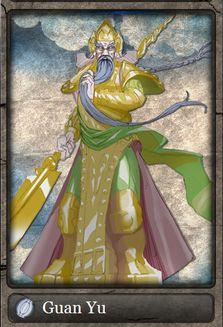 Guan Yu deus das artes da irmandade e da guerra