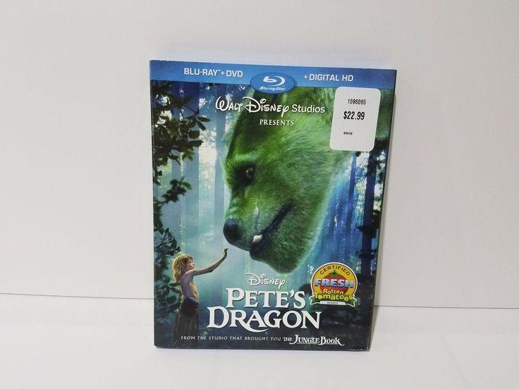 Disney Pete's Dragon Blue Ray - DVD - Digital Copy