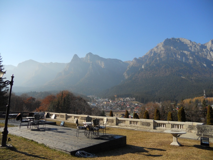 Castle cantacuzino- terrace