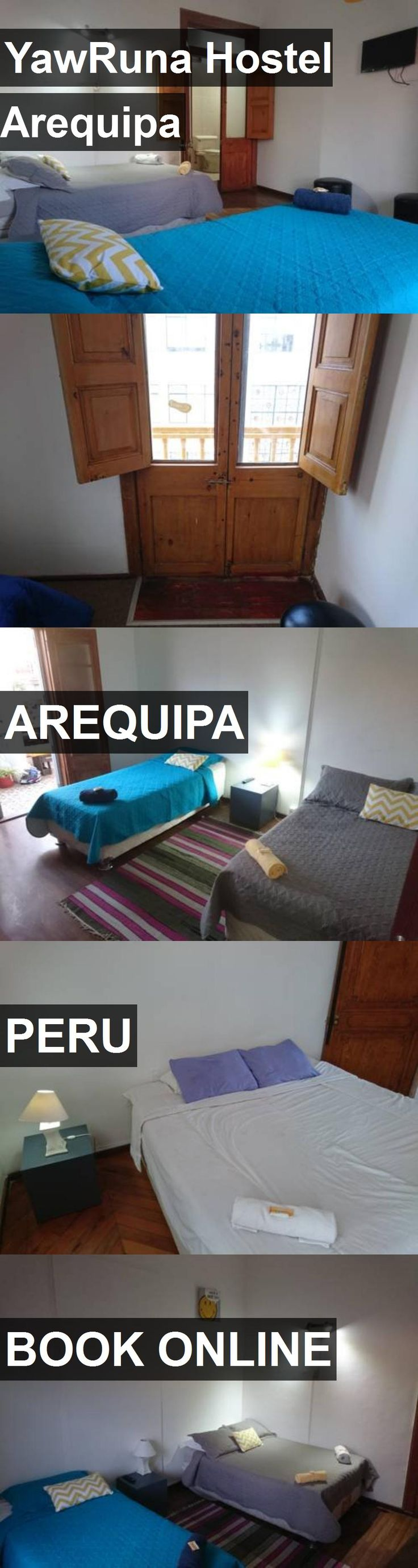 YawRuna Hostel Arequipa in Arequipa, Peru. For more information, photos, reviews and best prices please follow the link. #Peru #Arequipa #travel #vacation #hostel