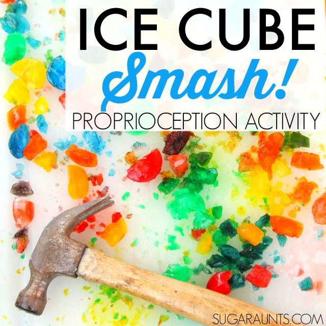 Ice Cube Proprioception Jump and Smash