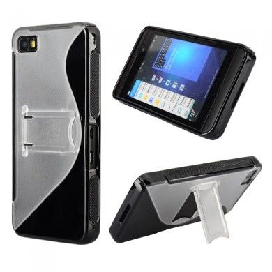 Custodia BlackBerry Z10 Sline e Stand - Nero