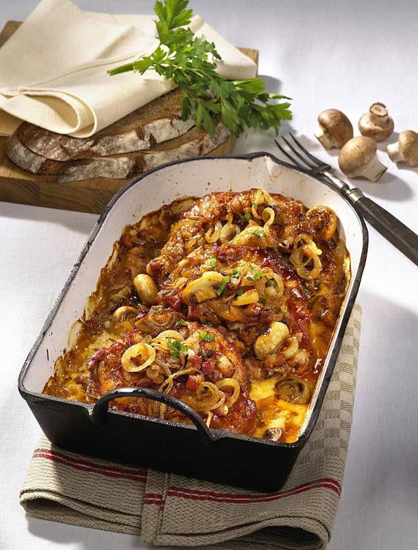 Zwiebelkoteletts aus dem Ofen