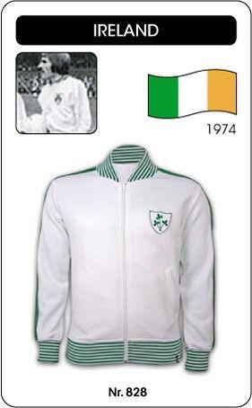 Ierland voetbal jack 1974 Ireland retro voetbal truitje football soccer vintage sport COPA