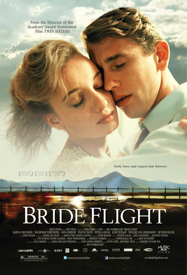 Bride Flight-2011-  I was very taken in by this nice Dutch drama. It was really well done. A beautiful story with a wonderful cast. The characters are well defined, and interesting. The scenery is beautiful, as well. Nice movie! September 25, 2012 itsjustme2004 Cynthia S. Super Reviewer