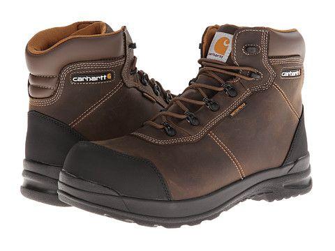CARHARTT 6-Inch Stomp Light™ Waterproof Composite Toe Work Boot. #carhartt #shoes #boots