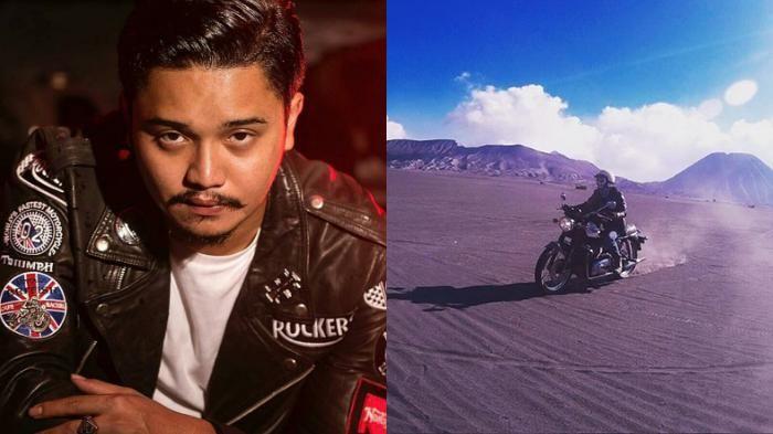 Fashion Derby Romero - Jaket Kulit Jadi Style Andalan Sang Pelantun Gelora…
