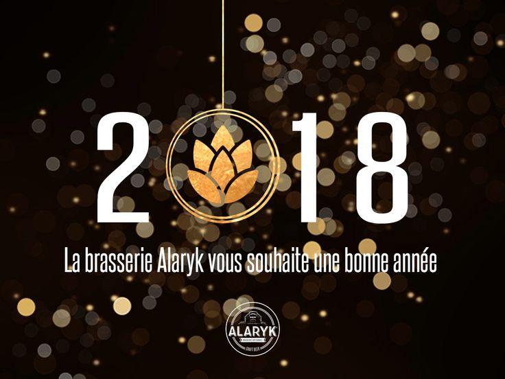 #happynewyear2018 #alarykbeer #brasserieartisanale #organicbeer #beer #craftbeer #biere #bio #originefrancegarantie #suddefrance