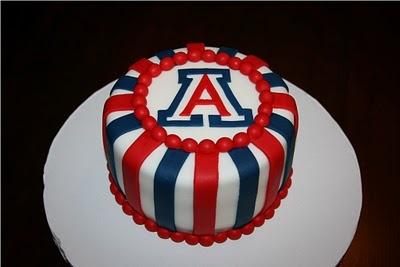 University Of Arizona Cake Things To Eat Pinterest