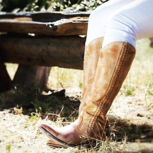 First look at the new Old Gringo Yippee Ki Yay Athena Tall Cowgirl Boots