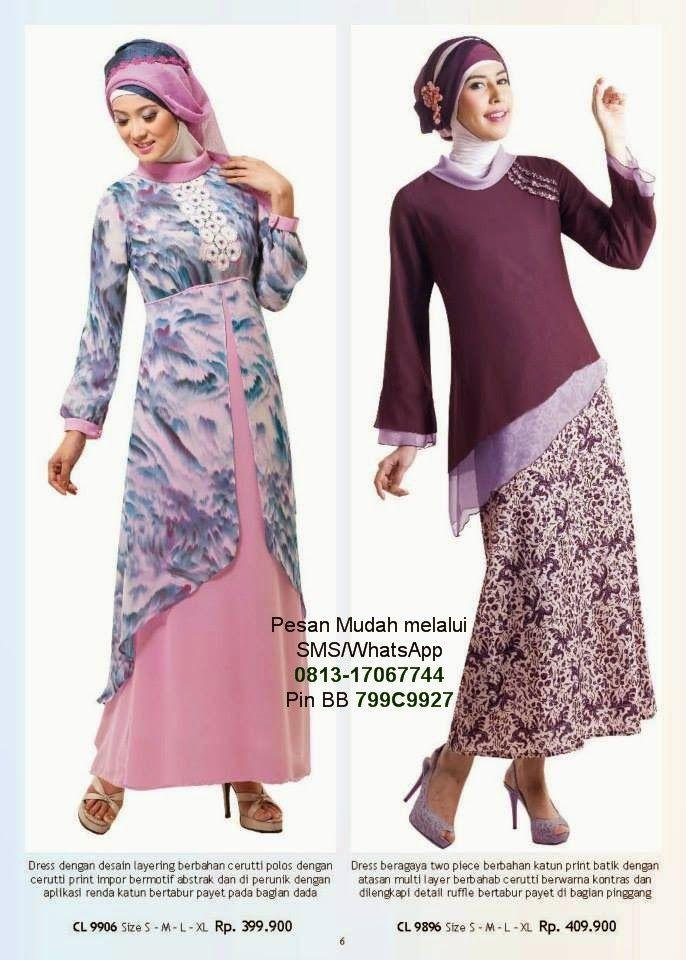 Gamis Modern Terbaru 2014 | Cantik Berbaju Muslim
