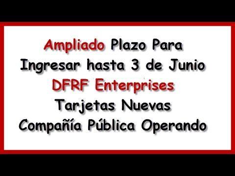 DFRF Enterprises Es una Empresa Pública   DFRF Enterprises LLC