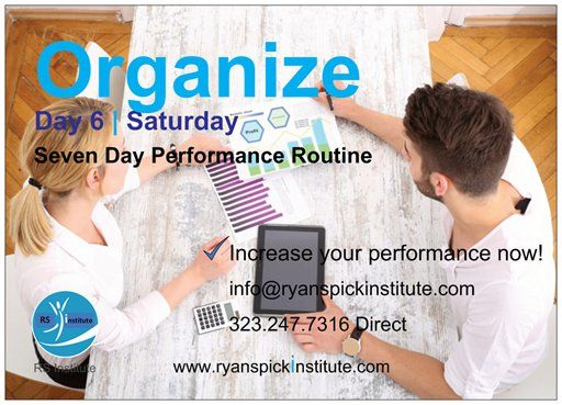 #Organize #Routine #Saturday #Life #Performance #Training #Achieve #Goal #Potential