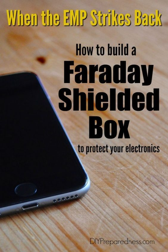 How to build a faraday shielded box to protect your electronics from EMP | DIYPreparedness