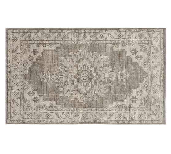 Teagan Hand-Knotted Rug - Gray Multi