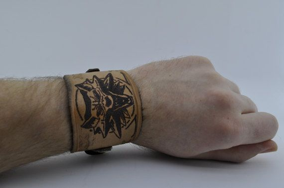 Leather bracelet with your own image