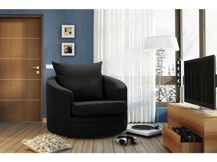 Les 25 meilleures id es de la cat gorie fauteuil conforama sur pinterest co - Fauteuil noir conforama ...