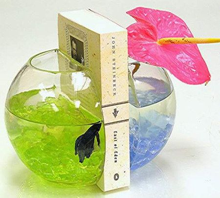 Fishbowl Bookends | 24 Insanely Clever Gifts For Book Lovers