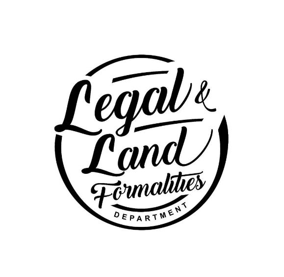 Desain Logo:  DESAIN LOGO LEGAL & LAND FORMALITIES
