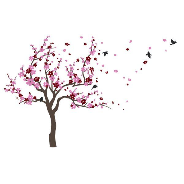 The Significance Of The Cherry Blossom Tree In The Japanese Culture Goes Back Hundreds Of Y Japanese Cherry Tree Cherry Tree Tattoos Cherry Blossom Tree Tattoo